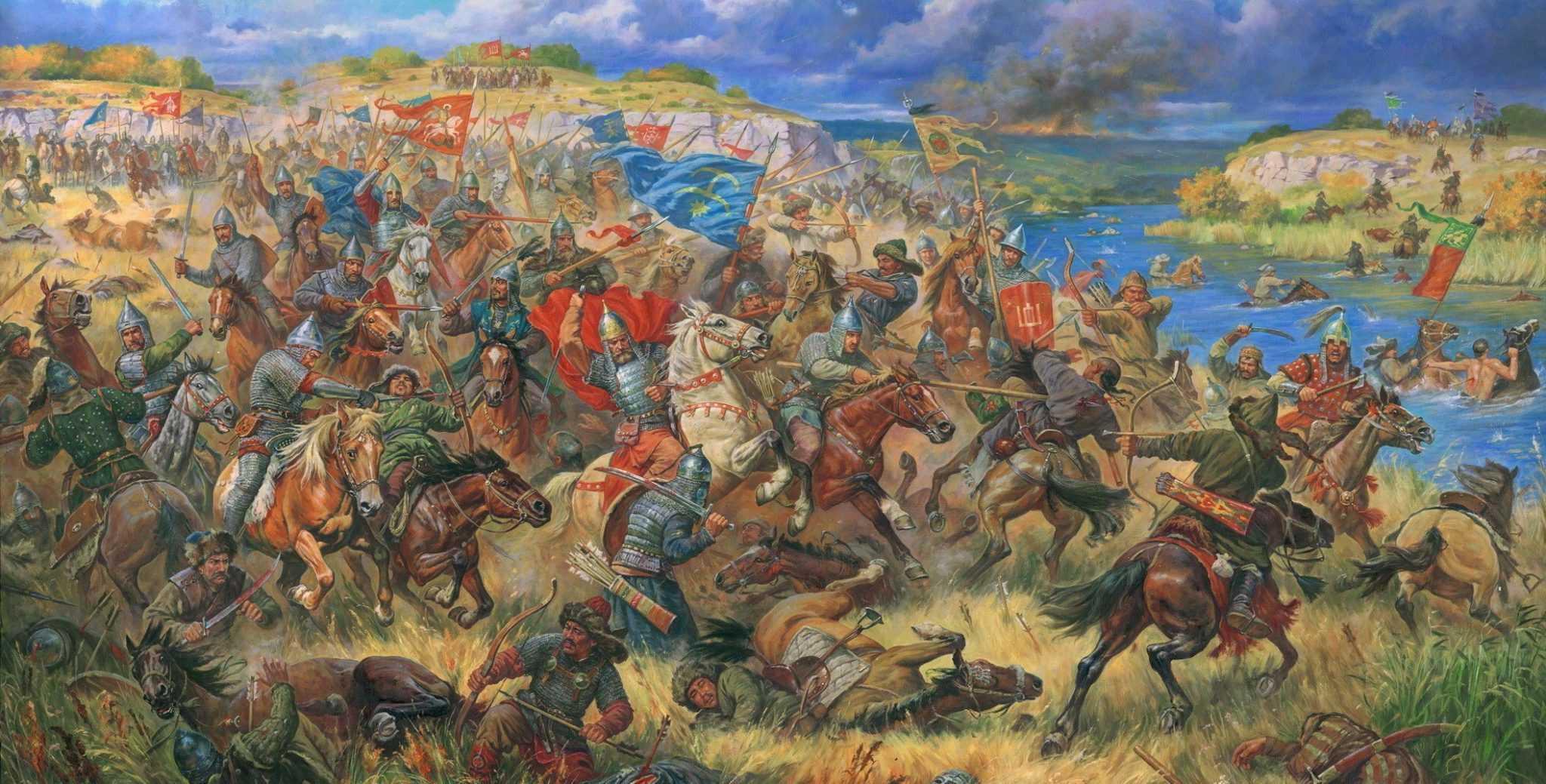 История Беларуси. Битва на Синей Воде