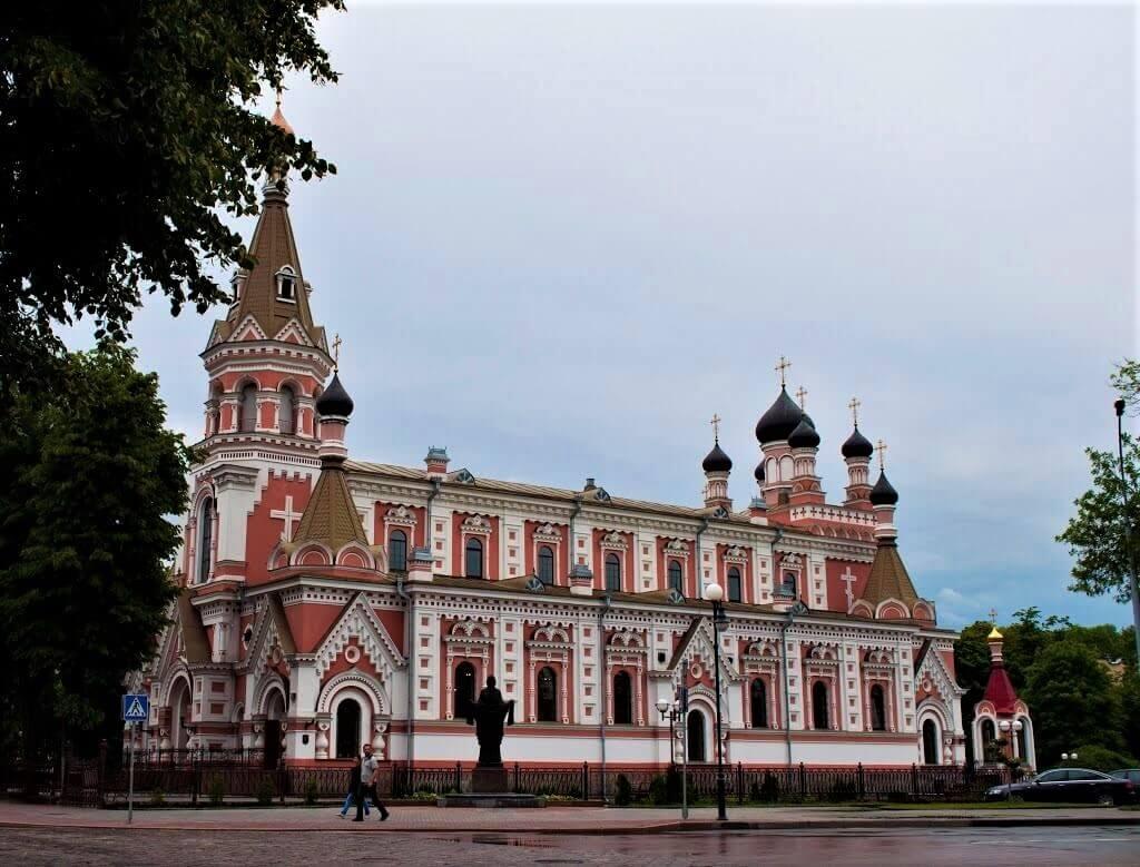 Православный кафедральный собор Святого Покровского в Гродно