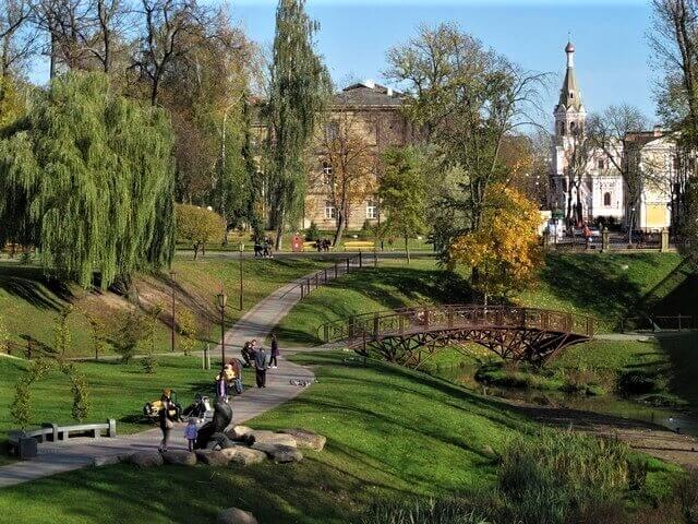 Ботанический сад в Гродно