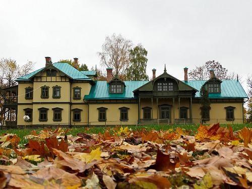 Лошицкий парк осенью