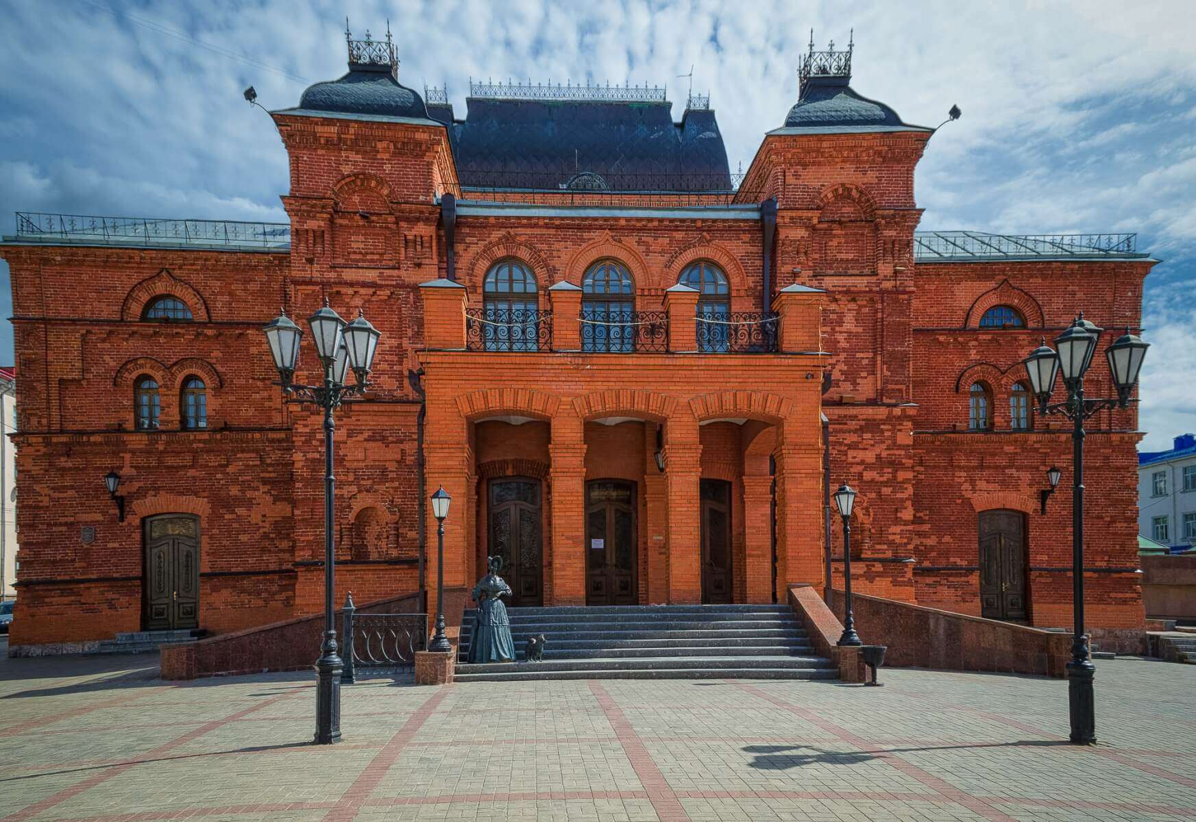 Drama theatre in Mogilev, Belarus