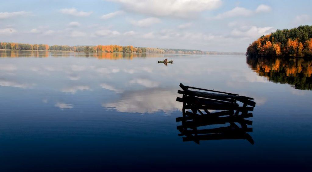 Big lake you should visit in Belarus
