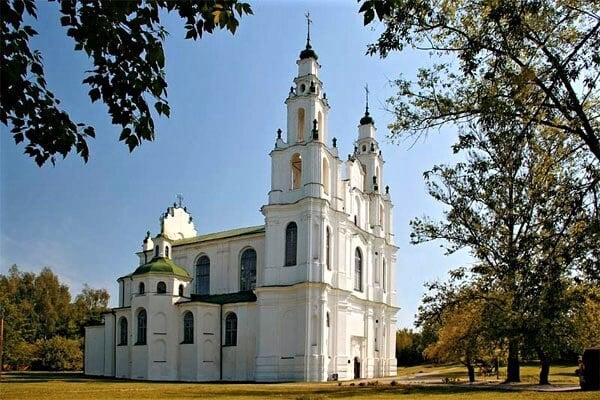 Софийский собор в Полоцке, главная достопримечательность Полоцка