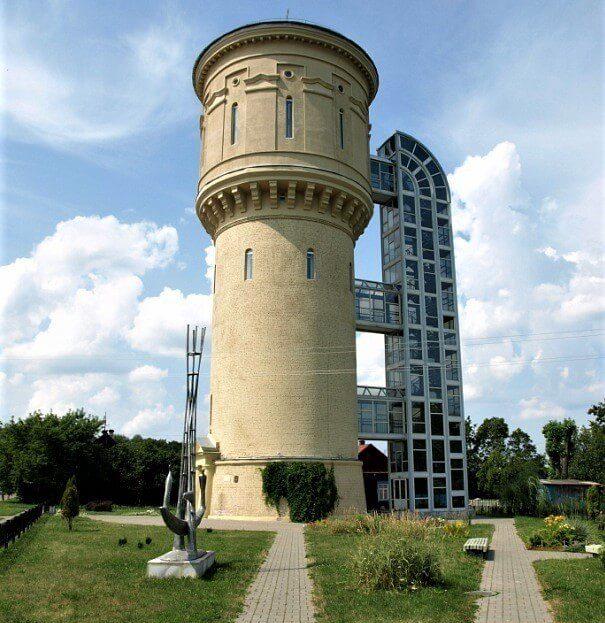 Необычный исторический музей в водонапорной башне, одной из главных достопримечательностей Полоцка