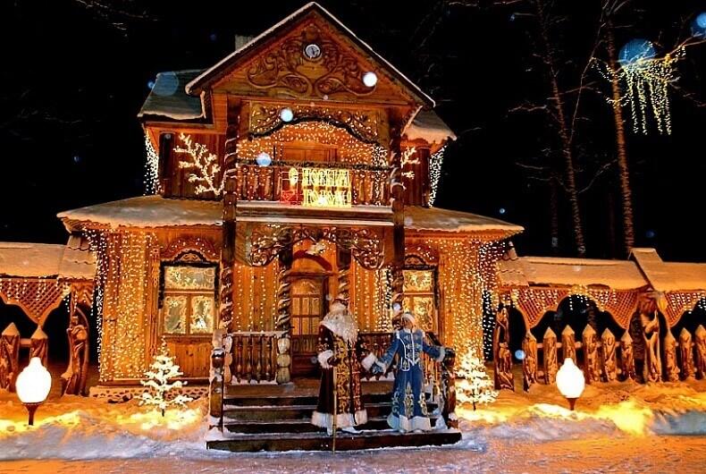 Santa Clause Residence in Belarus
