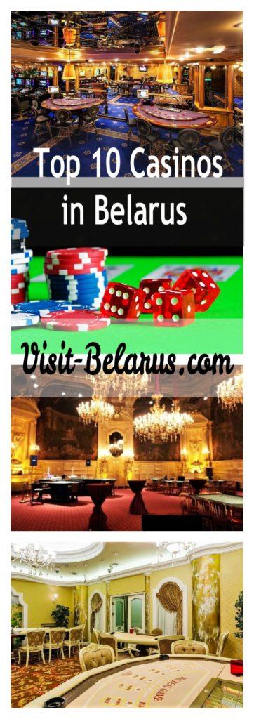 Лучшие казино в Беларуси Коллаж