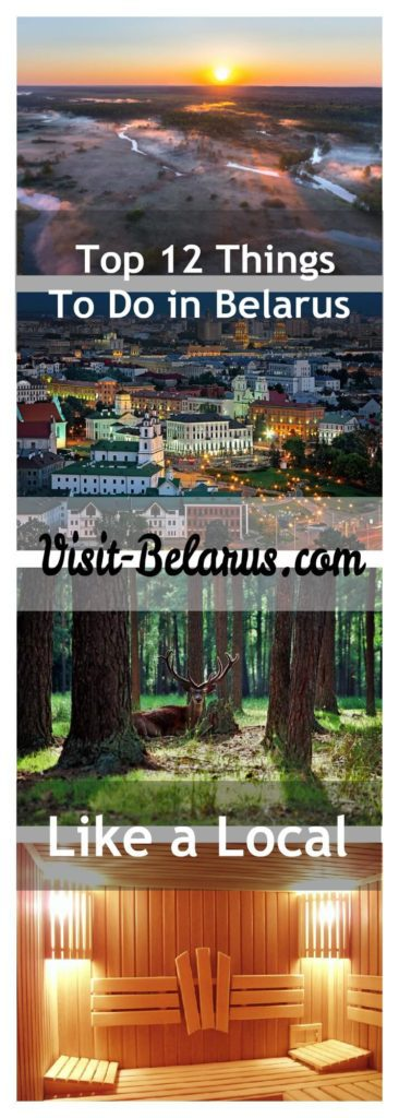Top 12 things to do in Belarus collage