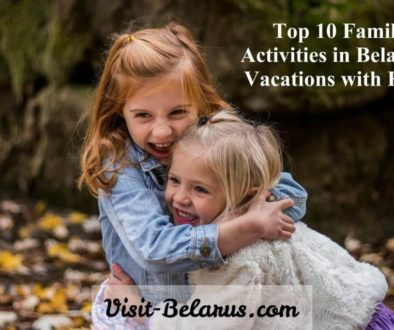 Family activities in Belarus, vacations with kids, autumn Minsk