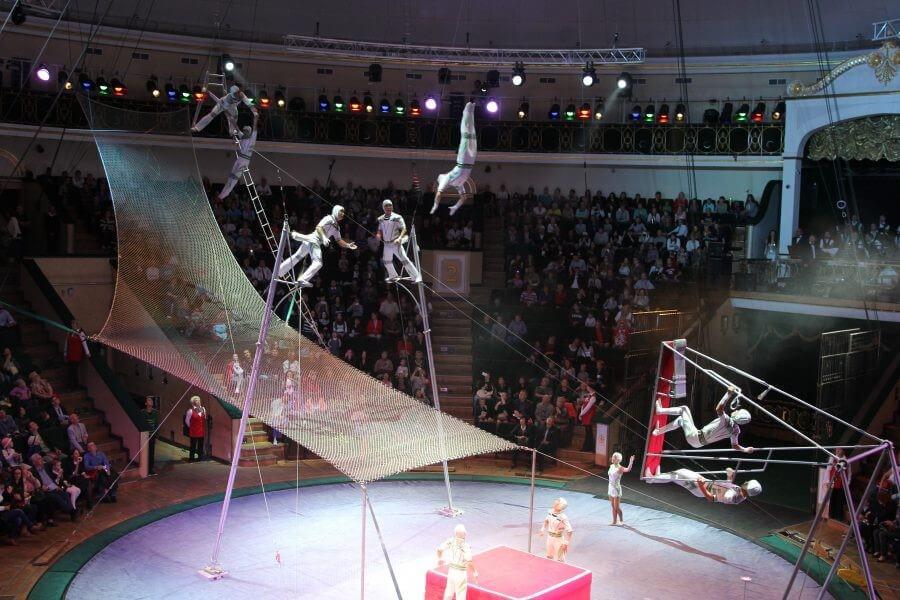Цирк в Минске, Беларусь