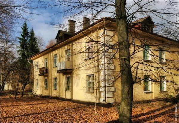 Старый дом в районе Осмоловка