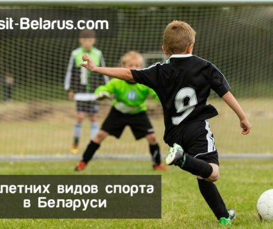 5 самых популярных летних вида спорта в Беларуси, футбол