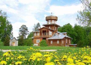 Усадьба Ильи Репина Здравнево возле Витебска, достопримечательность