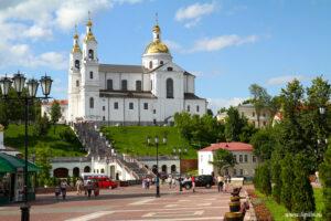 Успенский собор на холме в Витебске