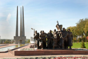 Monument to the people's sufferings during the Second World War in Vitebsk
