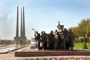 Мемориальный комплекс Три Штыка в Витебске