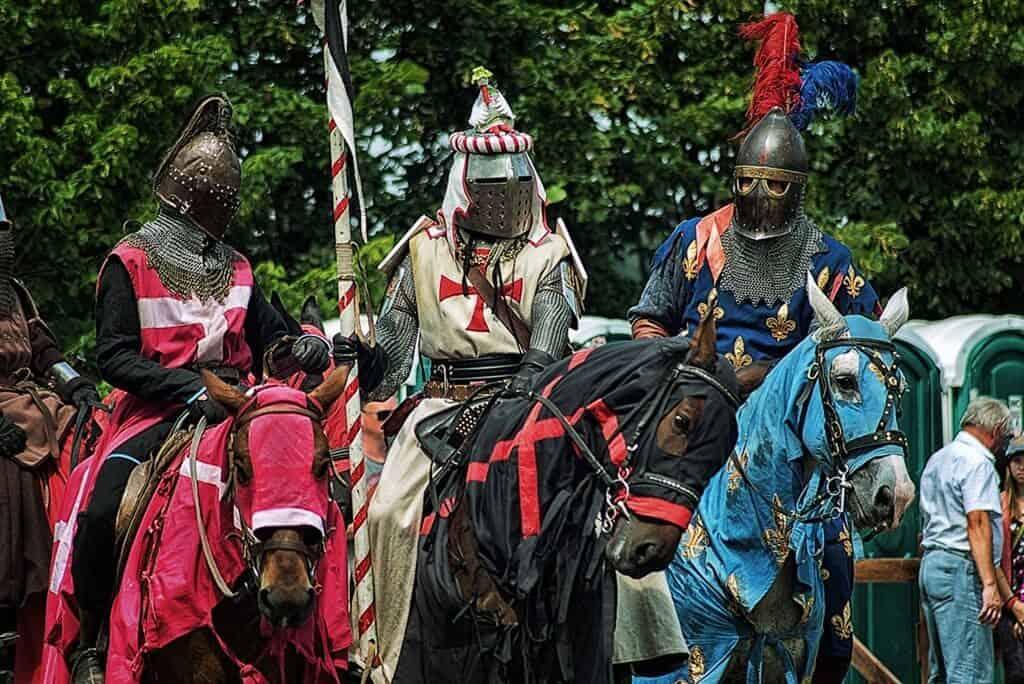 Рыцарский фестиваль Наш Грюнвальд, развлечения и отдых летом в Беларуси