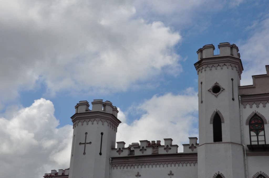 Puslovskys Palaca top facade
